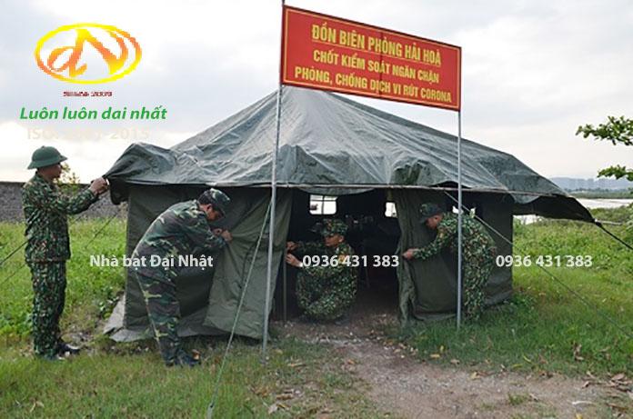 cách  dựng  nhà  bạt  trung  đội