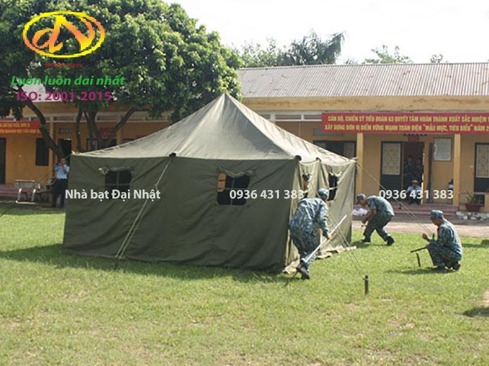 Lắp dựng nhà bạt trung đội