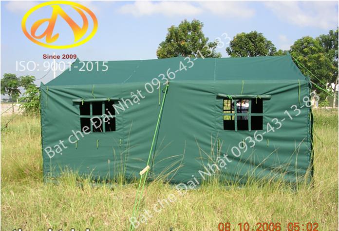 Nhà bạt quân đội màu xanh rêu - lắp đặt tai khu vừng trống - lắp đặt tập huấn tác chiến lưu động