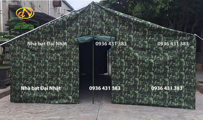 Nhà bạt quân đội rằn ri