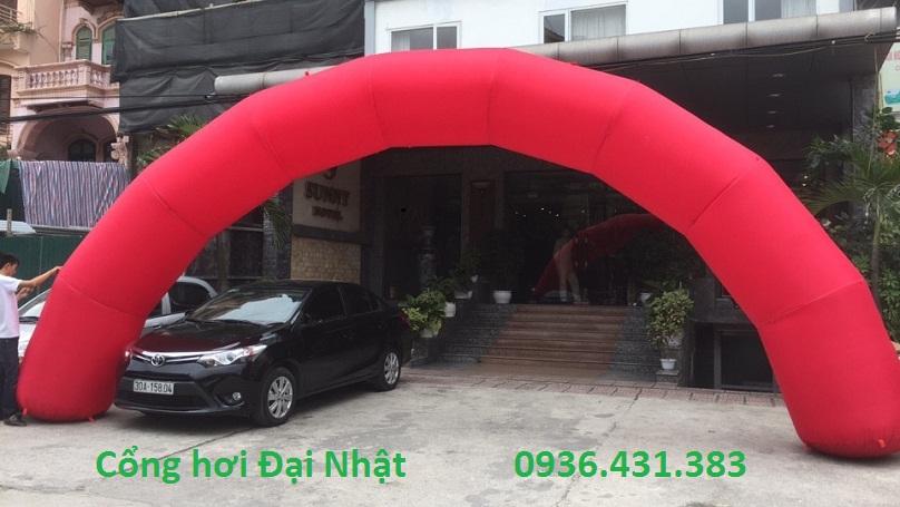 cổng đỏ
