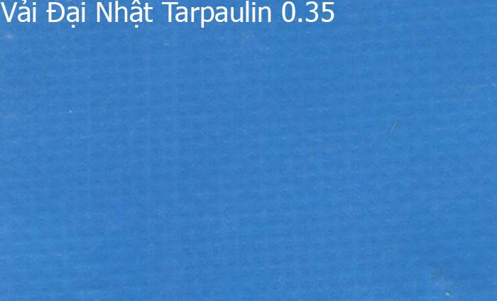 Bạt che Tarpaulin 4 lớp xanh dương