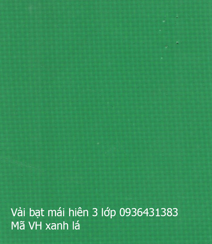 Bạt che Tarpaulin 4 lớp xanh lục
