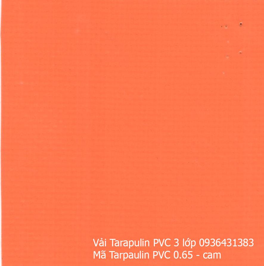 Bạt che Tarpaulin 4 lớp cam