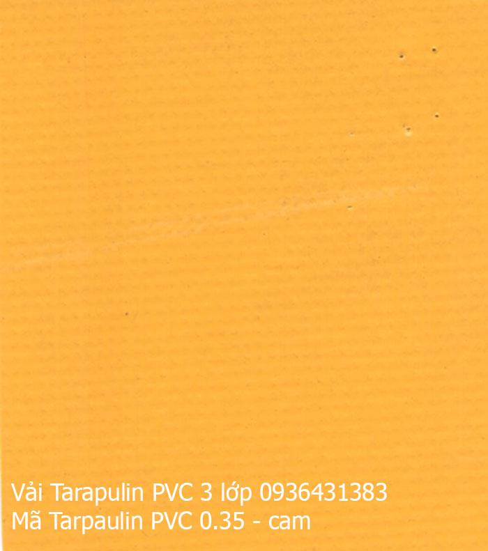 Bạt che Tarpaulin 4 lớp vàng