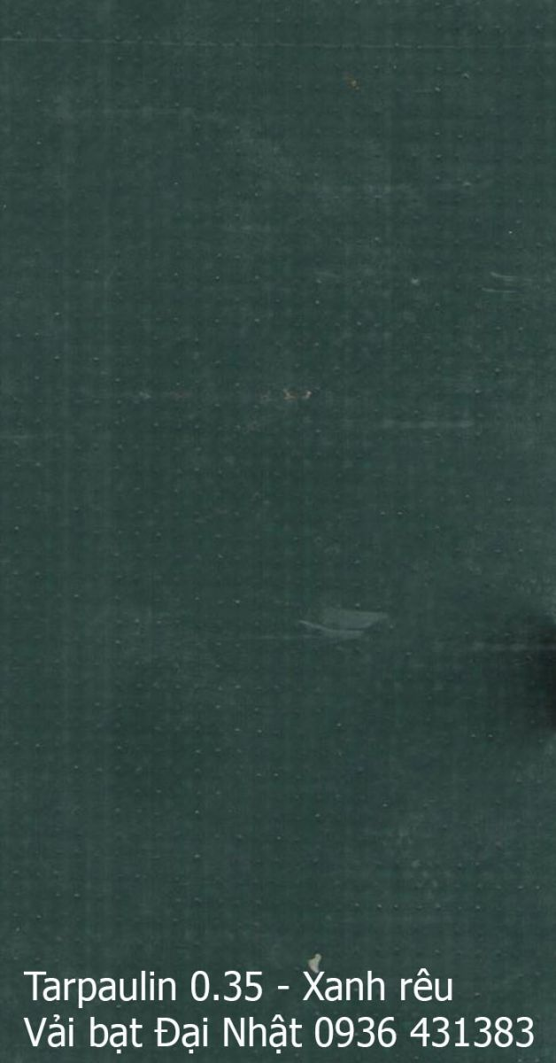 Bạt che Tarpaulin 4 lớp xanh đen